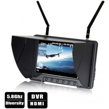 Flysight Black Pearl RC801 FPV Monitor