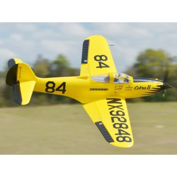 980MM P-39 Racing Yellow PNP