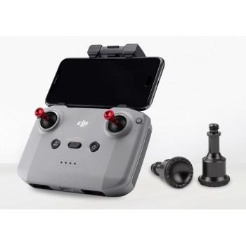 Aluminum Alloy Thumb Joystick Rocker MAVIC AIR 2 Smart Controller Black-Red