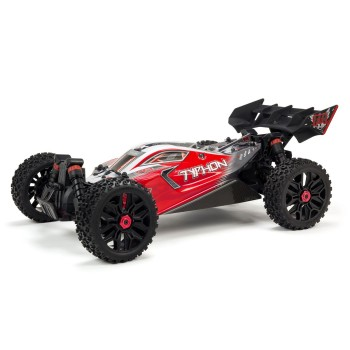 ARRMA 1/8 Typhon 4x4 3S BLX Buggy Red
