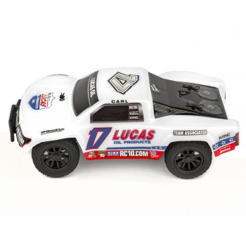 AE 1/28 SC28 2WD SCT Brushed RTR, Lucas Oil Edition