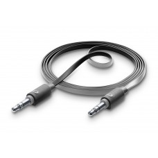 Cellularline AUX Misic Cable 3.5mm to 3.5mm Jack Black