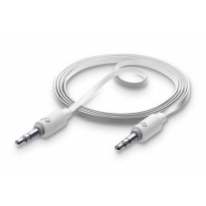 Cellularline AUX Misic Cable 3.5mm to 3.5mm Jack White