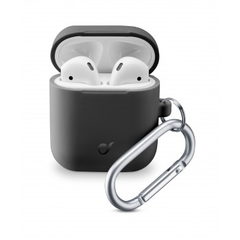 Cellularline Bounce Case for Airpods 1 & 2 Black