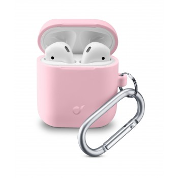 Cellularline Bounce Case for Airpods 1 & 2 Pink