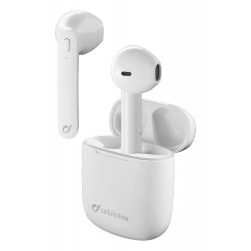 Cellularline Earphones Bluetooth TWS Aries Universal White