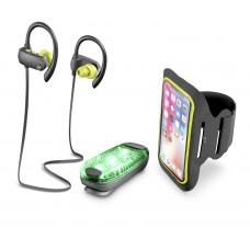 Cellularline Earphones Sport BT Bundle Universal Black