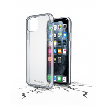 Cellularline Clearduo Case for iPhone 11 Pro Transparent