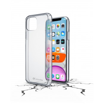 Cellularline Hard Case Clear Duo for iPhone 11 Transparent