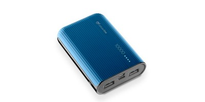 Cellularline Battery Charger EMER. 10000 USB-C Blue