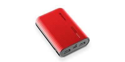 Cellularline Power Bank 10000  mAh - Red