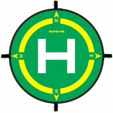 Sunnylife Foldable Landing Pad Waterproof Parking Apron Helipad Landing Field D50cm With Compass Directions