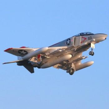 E-Flite F-4 Phantom 80mm BNF B AS3X/SAFE