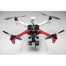 F450/550 Landing Skid (4legs+manual+screws)