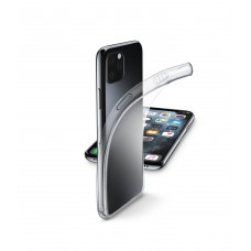 Cellularline Rubber Case Fine for iPhone 11 Pro Max Transparent
