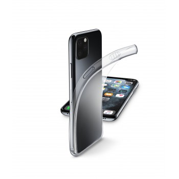Cellularline Rubber Case Fine for iPhone 11 Pro Transparent