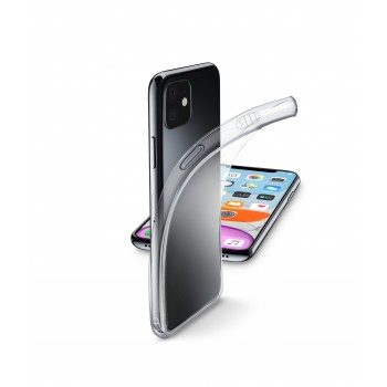 Cellularline Rubber Case Fine for iPhone 11 Transparent