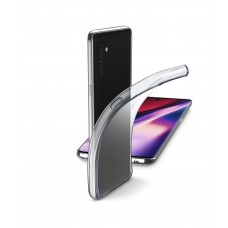 Cellularline Rubber Case for Fine Galaxy Note 10 Transparent