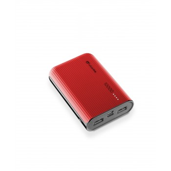 Cellularline Battery Charger EMER. 10000 USB-C Red