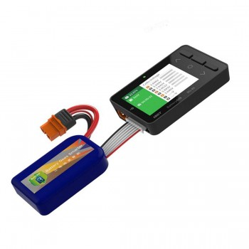 ISDT BattGo BG-8S Receiver Signal Smart Battery Checker Balancer Tester Quick Charge Function