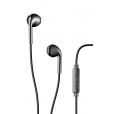 Cellularline Live Black EGG-Capsule Earphone With Mic