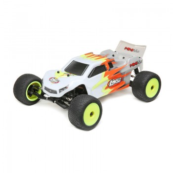 Losi Mini-T 2.0 RTR, Red/White: 1/18 2wd