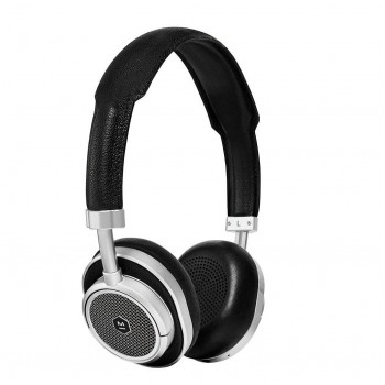 MW50S2 On Ear Headphone Silver Metal/Blk