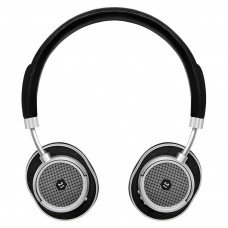 MW50S2 NOn Ear Headphone Silver Metal/Blk