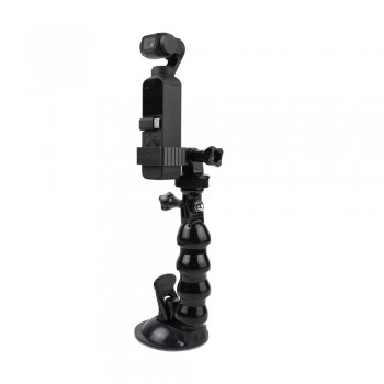 Sunnylife Adapter Kit Car Clamp Clip Sucker Mount for DJI OSMO POCKET & Action(OP-Q9199)