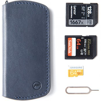 PGYTECH Memory Card Wallet (Deep Navy)