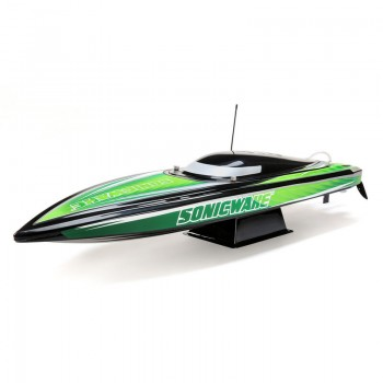 Proboat 36 Sonicwake,Blk, Self-Right Deep-V Brushless RTR