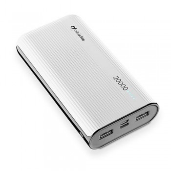 Cellularline Power Bank 20000 mAh - White