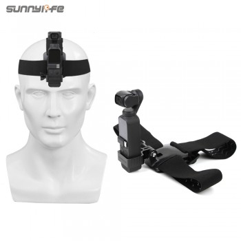 SDS-Head Band Wearing Belt Strap for DJI OSMO POCKET & Action(OP-Q9200)
