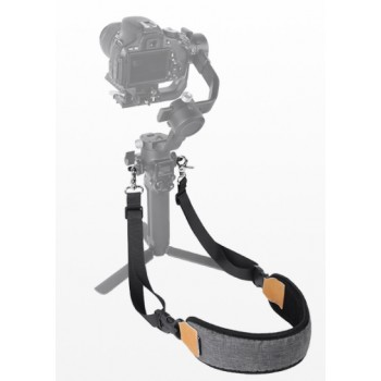 SDSHobby Dual Hook Strap Stress Reliever Shoulder Belt Lanyard for RS 2/RSC 2/Ronin-S/Ronin-SC