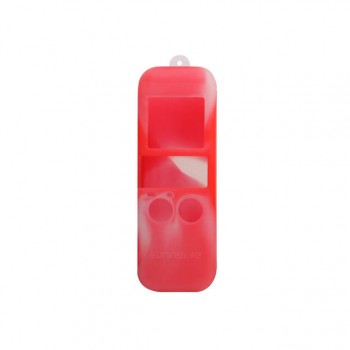 Sunnylife Silicone Case + Lanyard for OSMO POCKET (Red/White)