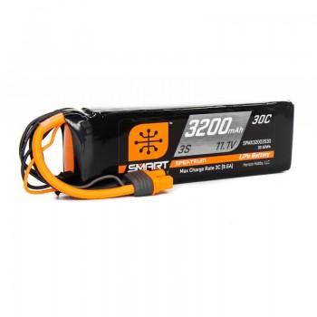 Spektrum 11.1V 3200mAh 3S 30C Smart LiPo Battery: IC3