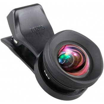 Sirui 18-WA2+18-WA2-CPL+MSC-06 Wide Angle Attachment Lens 18 mm for Smartphones