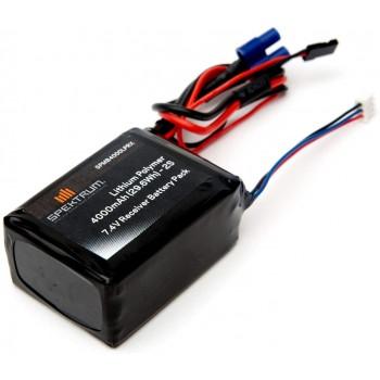 Spektrum 4000mAh 2S 7.4V LiPo Receiver Battery