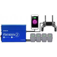 Sunnylife Batt. RC Super Charg. Station Hub 6-IN-1 Charger for Mavic 2 Pro / Zoom