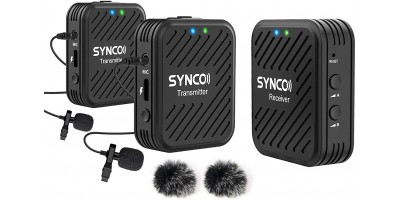 Synco G1 (A2) 2.4G Wireless Mic 1-Trigger-2