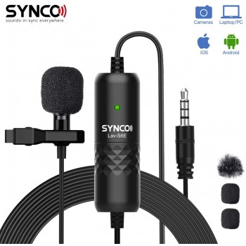 Synco Wired Lavalier Mic