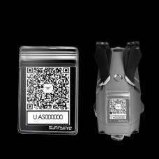 SDSHobby QR Code Phone Number Sticker Waterproof Protective Bag for MINI 2 MAVIC 2 Phantom 3 4 SPARK XIAOMI Q500 H480 Parrot Drone