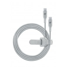 Cellularline USB Cable USB-C to USB-C 1M Silver