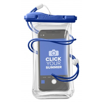 Cellularline Waterproof Case Voyager Univ Blue