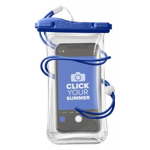 Cellularline Waterproof Case Voyager Univ Blue