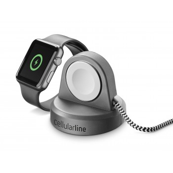 Cellularline Wireless Charger for Apple Watch Black