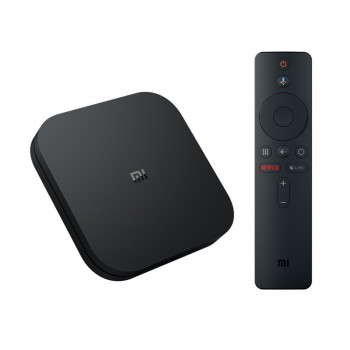 Xiaomi Mi Box S 4K Ultra HD Set-Up Box Black