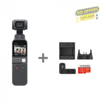 DJI Osmo Pocket Camera + Expansion Kit
