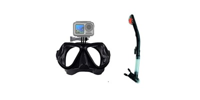 Diving Mask With Snorkel